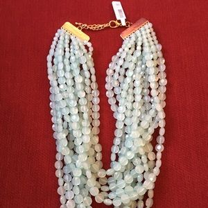 New Neiman Marcus necklace  green multi strands